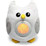 Amazon.com : Lambs and Ivy Enchanted Forest Plush Owl, Green : Plush Animal Toys : Baby night lite