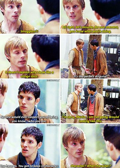 Merlin | Season 4 Episode 12 | Arthur as a simpleton was honestly one of the best parts of the show XD