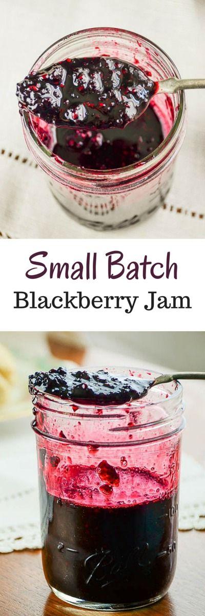 Small Batch Blackberry Jam                                                                                                                                                     More