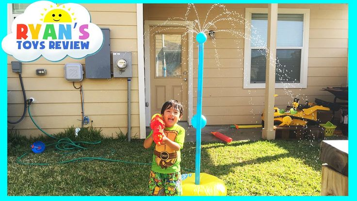 awesome Water Toys Tetherball Family Fun Game for Kids playtime outside Ryan ToysReview