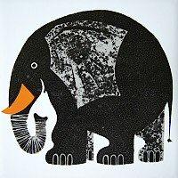 Walking down memory lane! Elephant, by Kenneth Townsend.