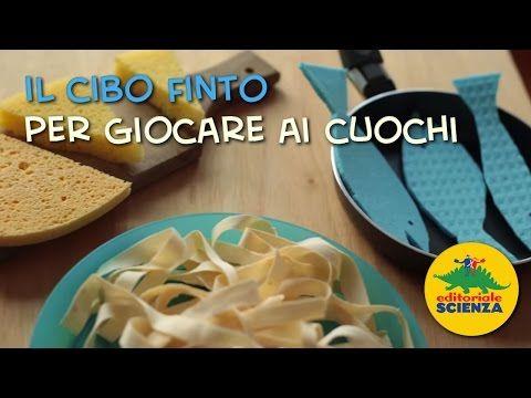 ▶ Come fare il cibo finto per giocare ai cuochi / homemade pretend play food for kids (pizza, lemons, pasta, fish...)