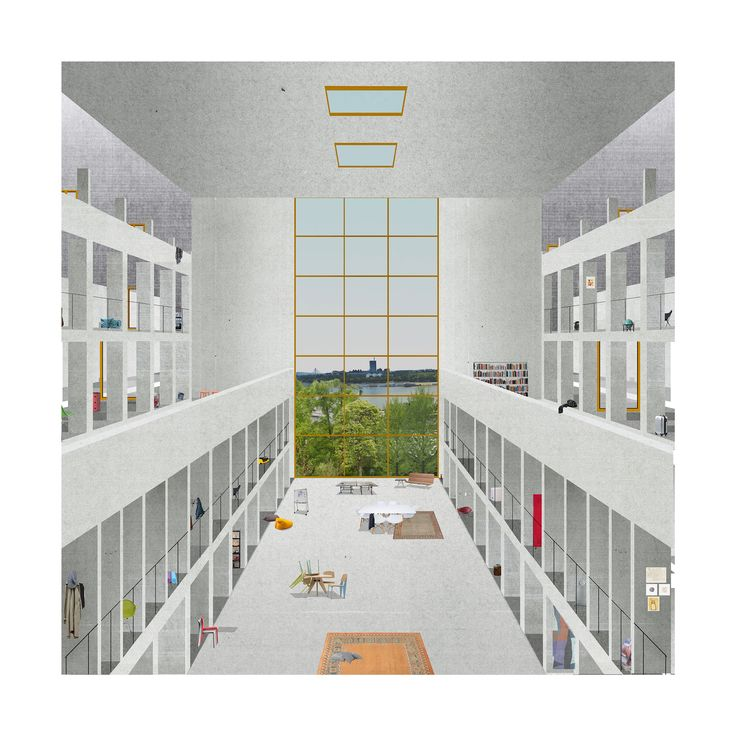 Michela.Bonomo Michela1 (2500×2500). Architecture CollageArchitecture  VisualizationSchool Of ...