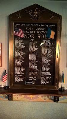 Genealogical Gems: Military Monday: Church Honor Roll