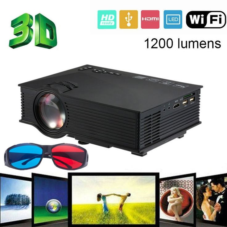81.22$  Buy here - http://ali477.shopchina.info/1/go.php?t=32713788869 - Chycet 2017 UNIC UC46 WiFi Wireless Portable LCD LED Home Theater Projector Proyector Cinema1200 Lumens Support Miracast DLNA Ai 81.22$ #shopstyle