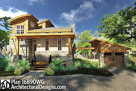 122 best Small House Plans images on Pinterest | Cottage, House ...