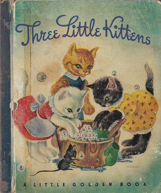 Three Little Kittens - A Little Golden Book