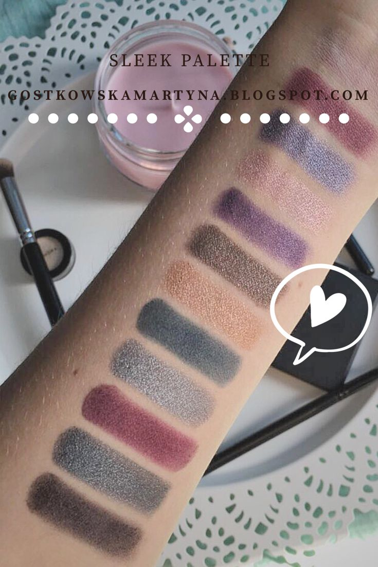 #eyeshadow#sleek#enchantedforest#blog#cosmetics#swatches