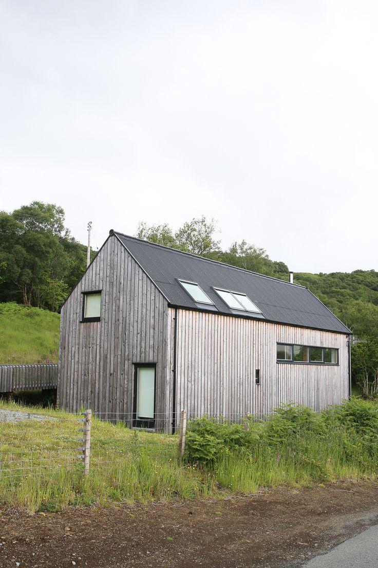 Vintage timber frame barn addition farmhouse exterior burlington - A Scottish Architectural Road Trip