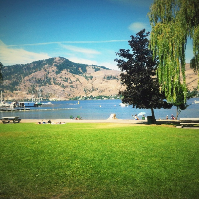 Paddlewheel Park, Okanagan Lake. Vernon, BC. --  Curated by: Ultimate Social Club | #4 1900 46th avenue | 2505494418
