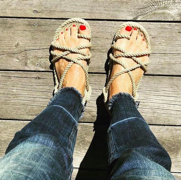 Tendance : les sandales en corde Nomadic State of Mind