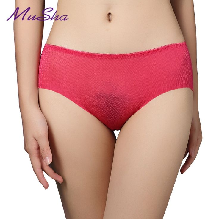 1.99$  Know more - Hot sale! Plus size New sexy lady  seamless cotton Comfort No trace Women breathale underwear women panties gilr Briefs   #aliexpresschina
