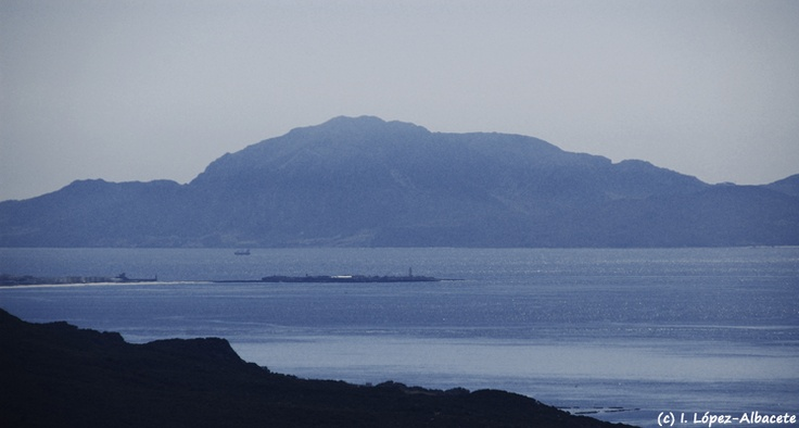 Jebel Musa e Isla de las Palomas (#Tarifa), punto más cercano entre África y Europa