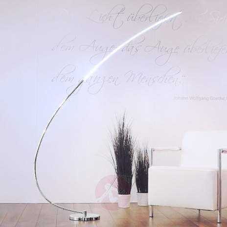 Metall-bue stålampe Chromo med LED-6002673-22