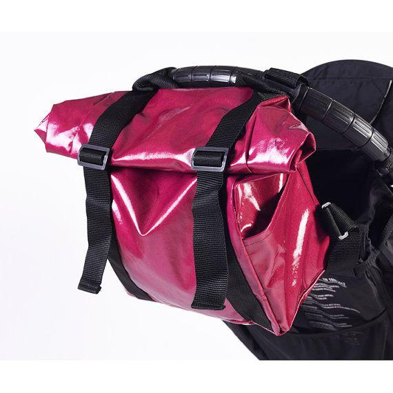 Pink diaper bag backpack Women Travel bag vegan tote by Welovefuss