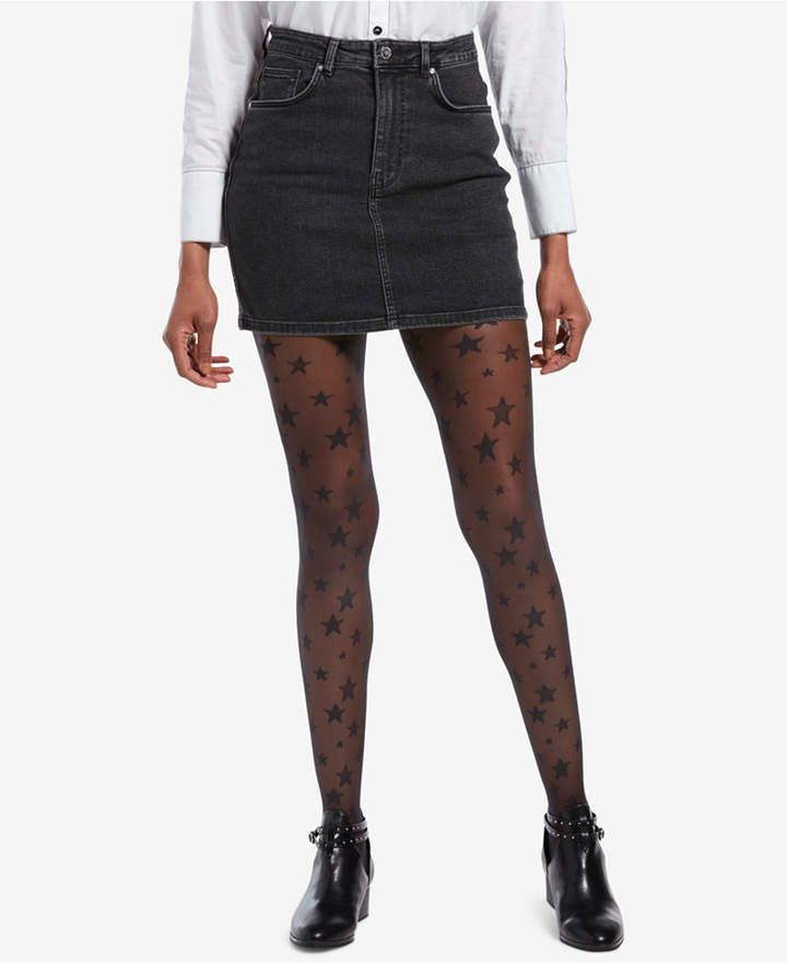 huge discount 0d3f6 6a466 Hue Control-Top Star Tights - Shop at www.fashion-tights.net ...