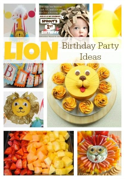 Sprout's LION First Birthday | Inspiration