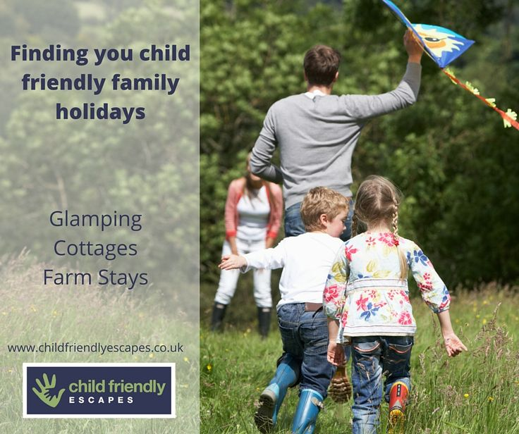 Please let your friends and family know about us. Visit our website http://www.childfriendlyescapes.co.uk