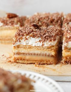 3 Bit - No Bake Graham Cracker Layer Cake