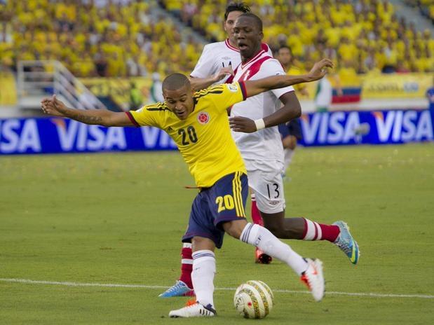 MacNelly Torres ... Colombia 2 (Falcao, Teo) Perú 0