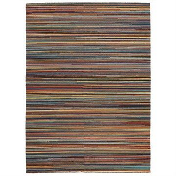 Nomad Hand Knotted Weave Multi-colour Thread Woolen Rug - 280x190cm