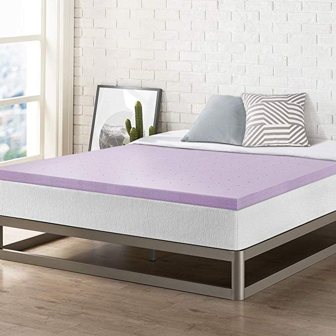 Best Price Mattress Queen 1.5 Inch Gel Memory Foam Bed Topper with Cooling Mattress Pad Size Blue