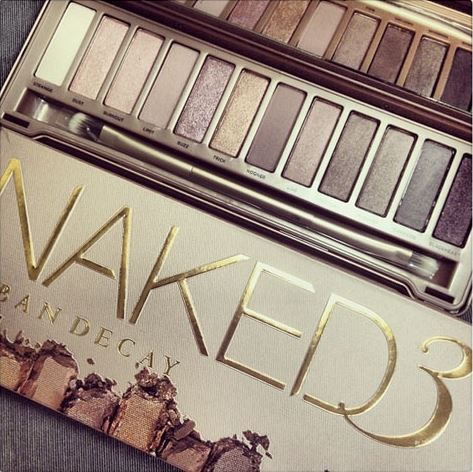 Urban Decay Cosmetics Naked3 Palette - been waiting so long to get this one!