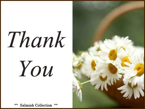 Salmiah Collection: Thank You Card 14