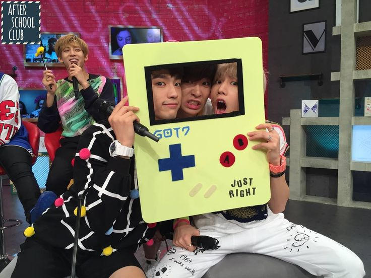 Get up close and personal with #GOT7's Junior, Youngjae and Mark on After School Club