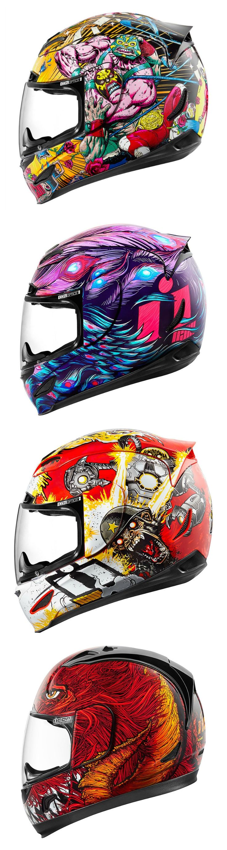 Icon Motorcycle Helmets for Spring 2017