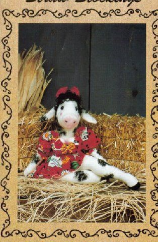 Free Cow Pattern - Sexy Cow Babe 1/6