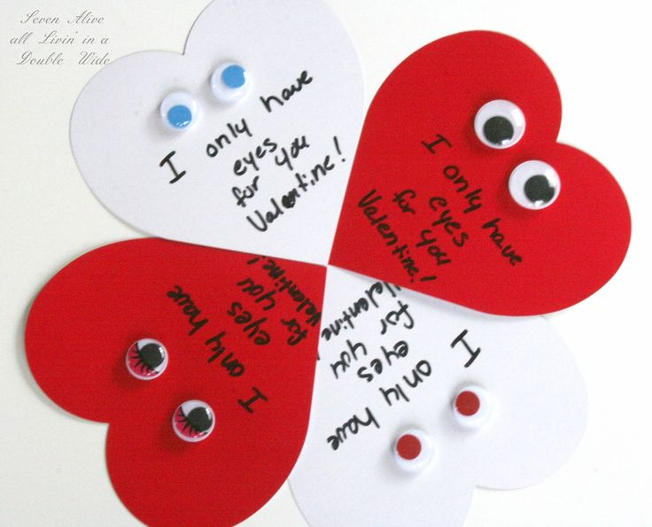 1000 images about Valentines Day – How to Make Valentine Greeting Card
