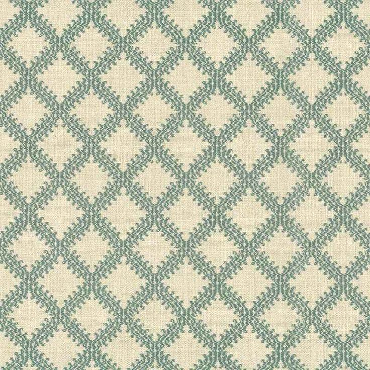 Warwick Fabrics : LIMOGES, Colour VERDIGRIS