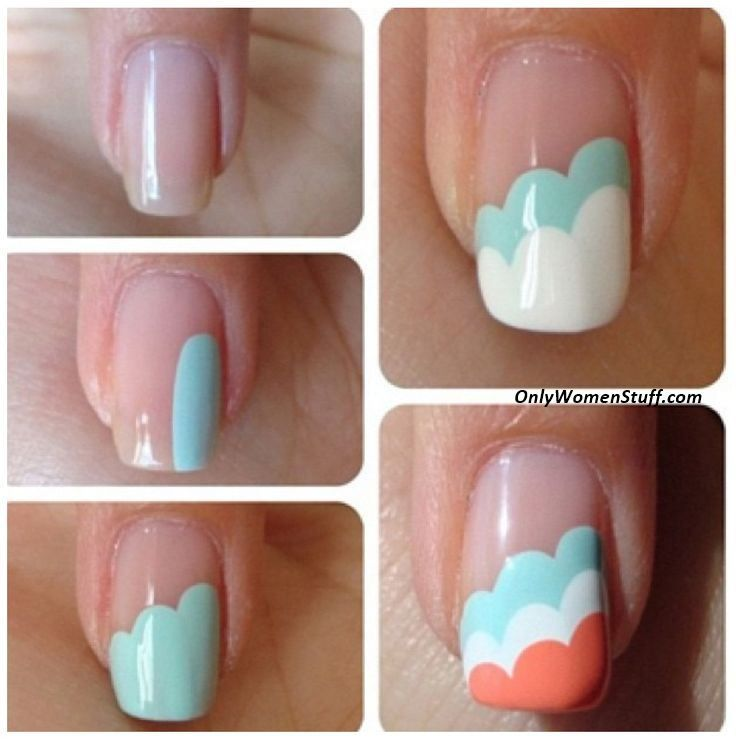 Only Women Stuff A Blog About Beauty Fashion Health Diy Nail Designs Nail Art For Beginners Trendy Nail Art
