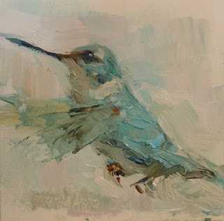 Brande Arno's Daily Small Paintings - LOVE her paintings!