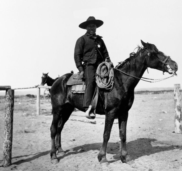 01204a91d96743b84a99e8a6ece07cd4-595x557 17 African American Cowboy and Cowgirl Images We Love