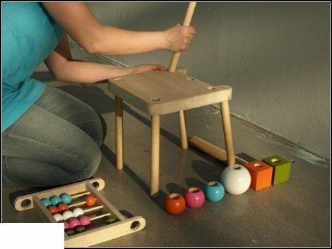 Мебель для детских игр. Проект Screw от Марии Ванг (Maria Vang)
