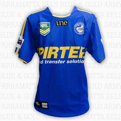 2013 Parramatta Eels Jersey - Home - Adult $95