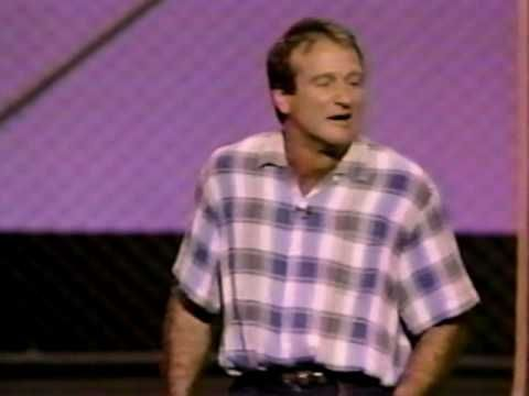 """Comic Relief """"Robin Williams"""" Stand Up Comedy 1987"""