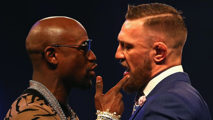 "Floyd Mayweather uses homophobic slur after accusing Conor McGregor of racism https://tmbw.news/floyd-mayweather-uses-homophobic-slur-after-accusing-conor-mcgregor-of-racism  Warning: Some of the language in this story may cause offence.Floyd Mayweather used a homophobic slur after accusing Conor McGregor of racist comments during the media tour to promote their Las Vegas fight.Mayweather will face UFC lightweight title-holder McGregor in 12 rounds under boxing rules in August.""He called…"