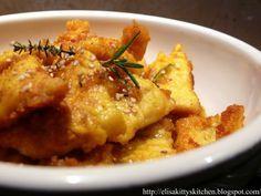 Bocconcini di pollo speziati alla curcuma e sesamo - Kitty's Kitchen