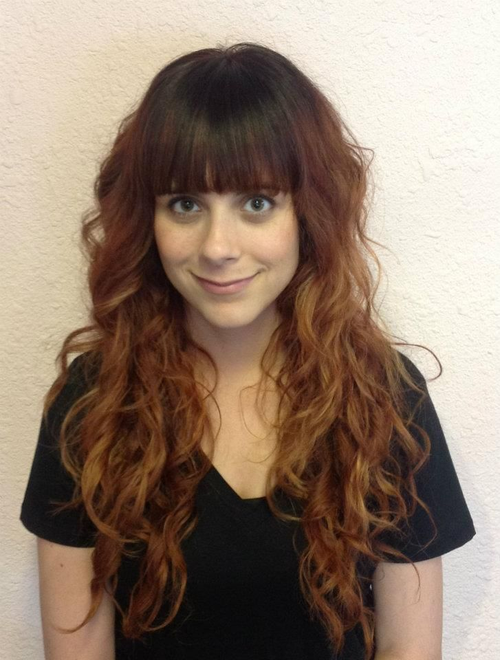 stacked haircuts with bangs bangs and curls hair ideas curls bangs 3500