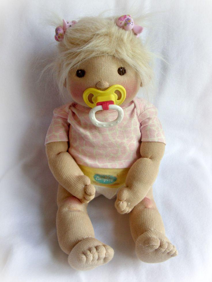 PDF PATTERN Sock Baby Doll