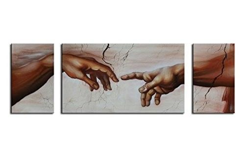 2-Hands-Painting-Creation-of-Adam-Modern-Canvas-Painting-Hand-Painted-New