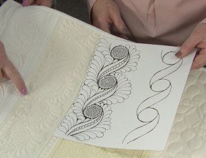 Vicki and Marie from Handi Quilter share tips for using a stencil to jump start your quilting designs. See how one stencil can be transformed in multiple ways to create different quilting designs.