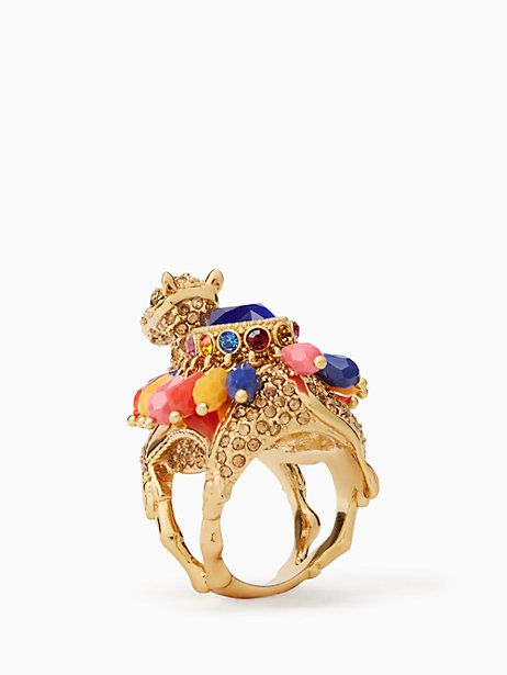 spice things up camel ring, multi, large