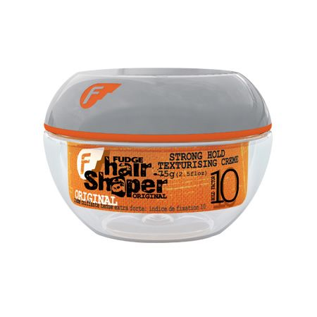 Fudge Hair Shaper (High Hold Factor) 75g The Fudge Hair Shaper is an excellent styling tool. You can scrunch, mould slick and style hair however you want with this fudge styling product. Whats more you only need a tiny amount as it goes a lo http://www.MightGet.com/april-2017-2/fudge-hair-shaper-high-hold-factor-75g.asp