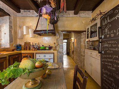 Rethymno villa rental - Fully equipped kitchen!
