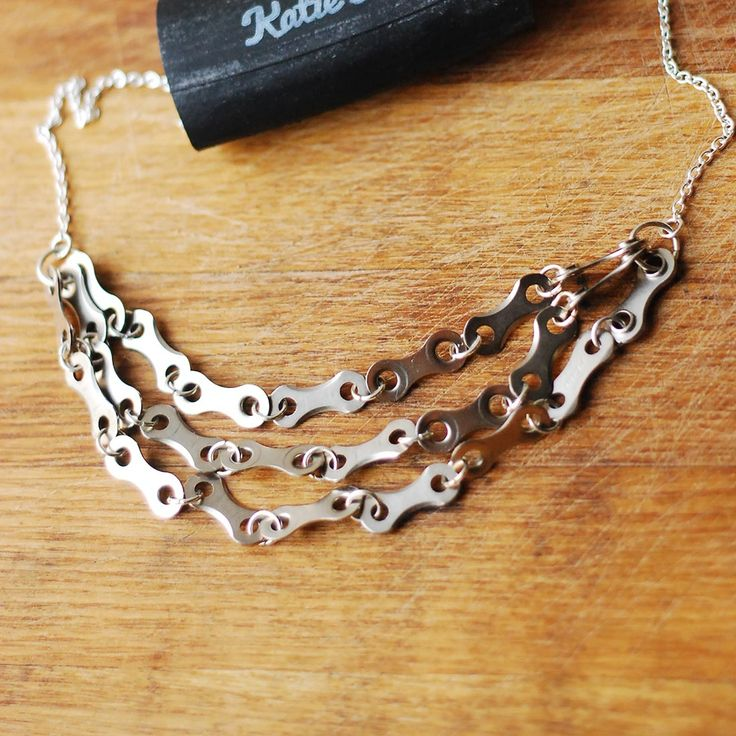 Katie's Bike Chain Necklace - Keen Cyclists - Personality - Christmas Gift Guide - The Lost Lanes