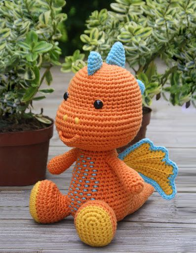 Lars The Dragon Amigurumi Pattern